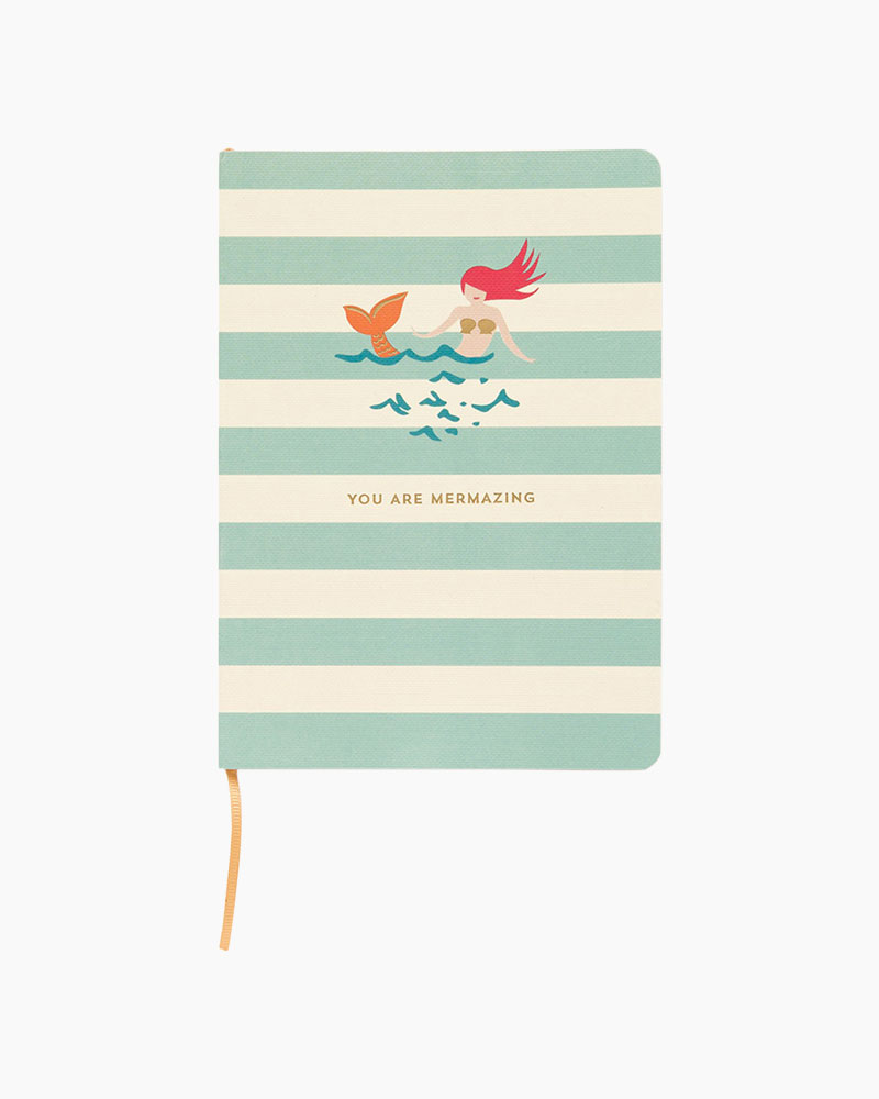Spartina 449 You are Mermazing Ruled Notebook