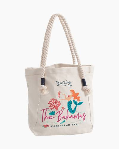 Greetings from The Bahamas Canvas Tote