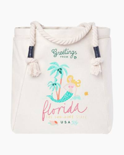 Greetings from Florida Canvas Tote