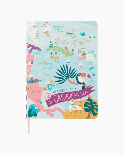 Caribbean Ruled Notebook