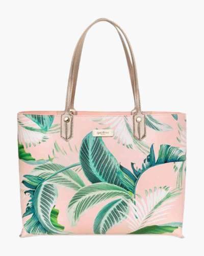 Cabana Leaf Tote Bag