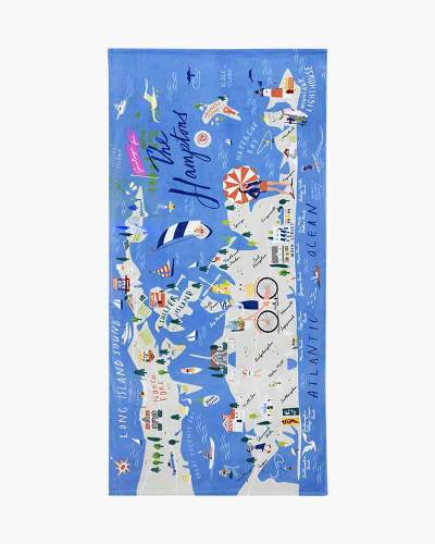 The Hamptons Beach Towel