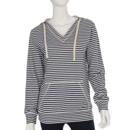 Too Cool Navy Stripe Long Sleeve Top