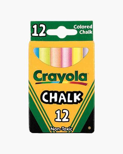 12-ct. Multi-Colored Chalk