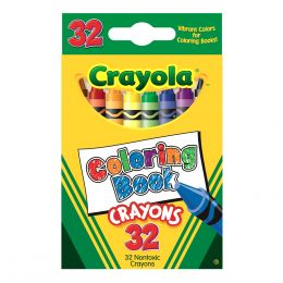 Crayola 32-ct. Coloring Book Crayons