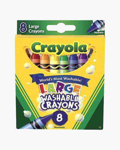 8-ct. Large Washable Crayons