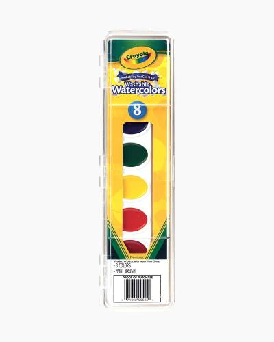 8-ct. Washable Watercolors