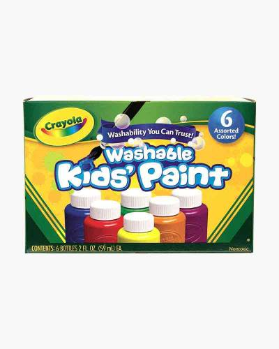 6-ct. Washable Kid's Paint