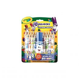 Crayola 18-ct. Pip-Squeaks Colored Pencils
