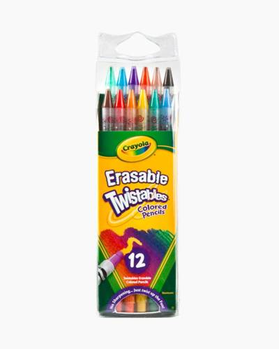 Erasable Twistable Colored Pencils
