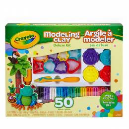 Crayola Crayola Deluxe Modeling Clay Kit