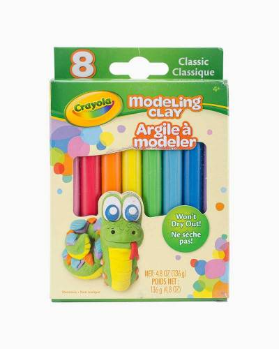 Modeling Clay Set (8-Piece)
