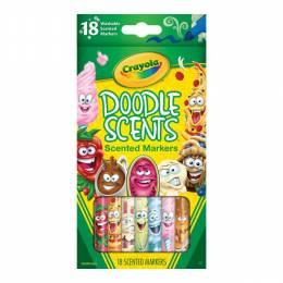 Crayola Doodle Scents Markers (18 Count)