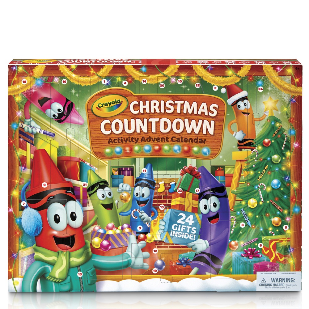 Crayola Crayola Christmas Countdown Activity Advent Calendar
