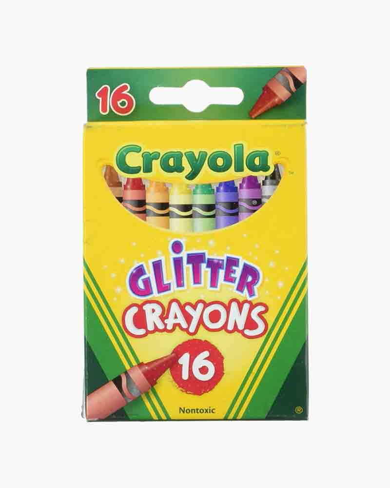 Crayola Glitter Crayons (16 Count)