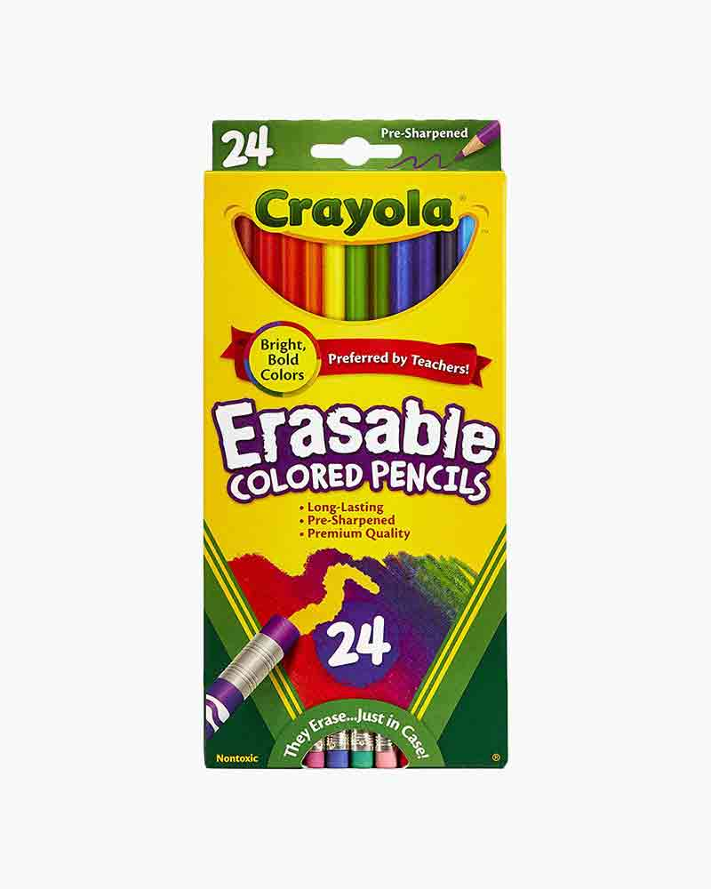 Crayola Erasable Colored Pencils (24 Count)