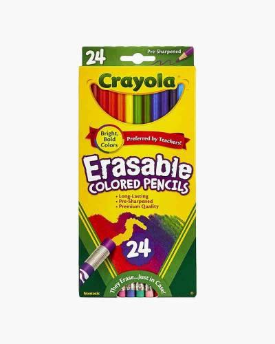 Erasable Colored Pencils (24 Count)