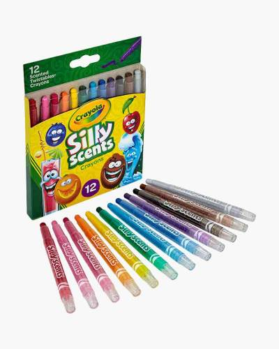 Silly Scents Mini Twistable Crayons (12-Pack)
