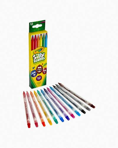 Silly Scents Twistables Colored Pencils (12-Pack)