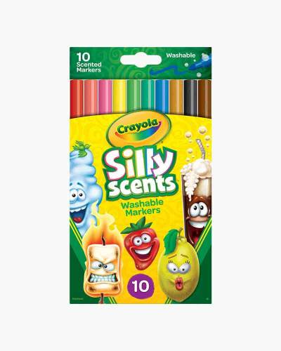 Silly Scents Washable Markers (10-Pack)