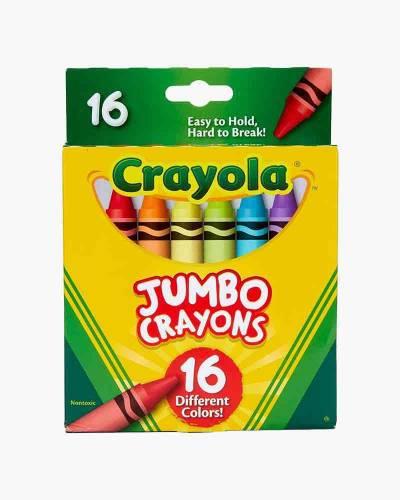 Jumbo Crayons (16 Count)