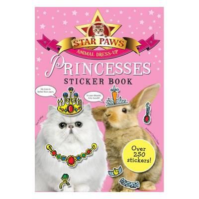 Princesses Sticker Book: Over 250 Stickers (Paperback)