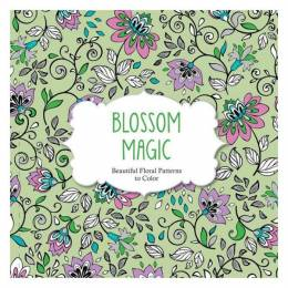 ArsEdition Blossom Magic: Beautiful Floral Patterns to Color
