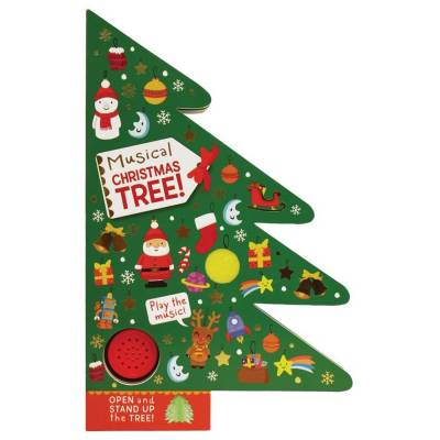 Musical Christmas Tree (Board Book)