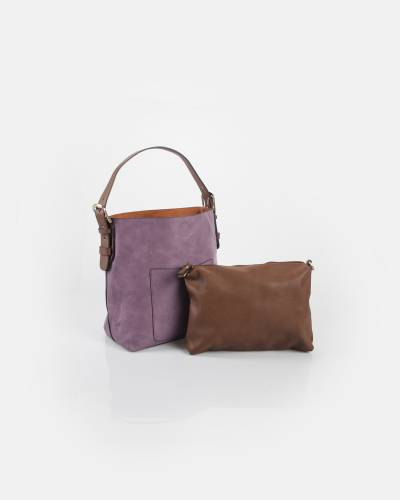 a1d6b361e710 Joy Susan Classic Hobo Bag and Pouch Set in Lilac