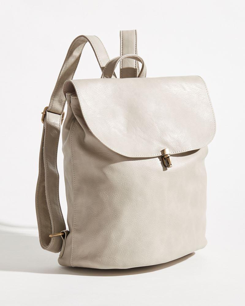 Joy Susan Colette Backpack Dove Grey