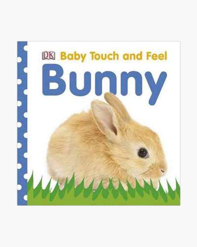 Baby Touch and Feel Bunny Board Book