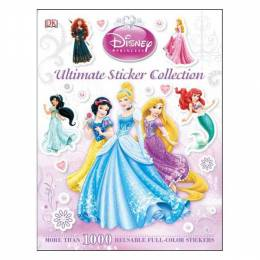 DK Publishing Ultimate Sticker Collection: Disney Princess (Paperback)