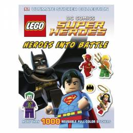 DK Publishing Ultimate Sticker Collection: LEGO DC Super Heroes: Heroes into Battle (Paperback)