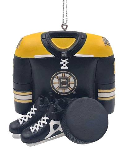 Boston Bruins Equipment Ornament