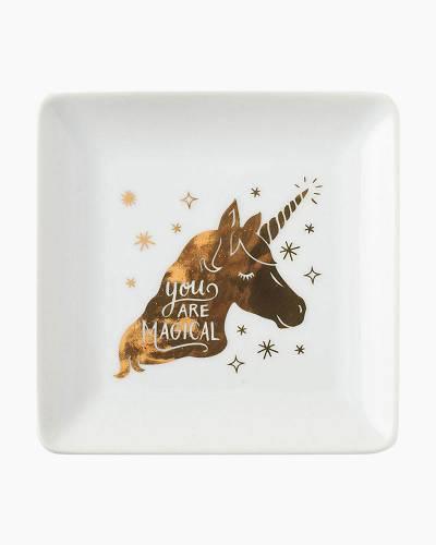 Gold Unicorn Trinket Dish