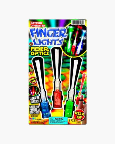 Fiber Optic Finger Lights