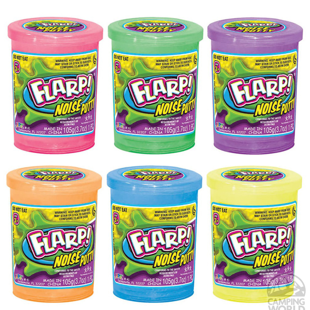 Ja Ru Flarp Noise Putty (Assorted Colors)