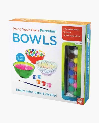 Paint Your Own Porcelain Bowls Activity Kit