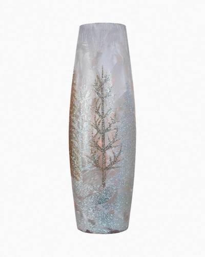Winter Wonderland Light-Up Tall Vase