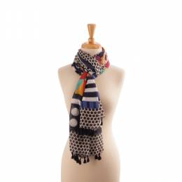 Lava Accessories Ornate Tassel Scarf