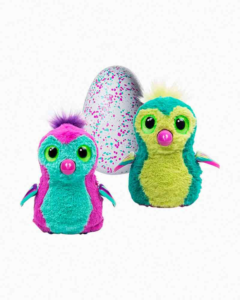 Hatchimals Pengualas Teal Egg Hatching Plush