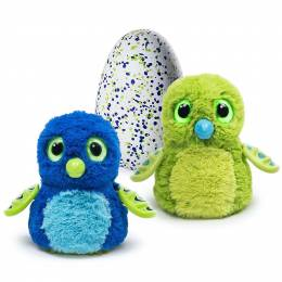 Hatchimals Draggles Green Egg Hatching Plush