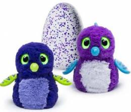 Hatchimals Draggles Purple Egg Hatching Plush