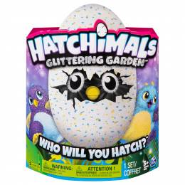 Hatchimals Hatchimals Pengualas Glittering Garden Hatching Plush