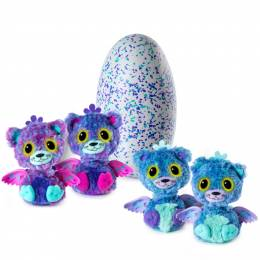 Hatchimals Hatchimals Glittering Garden Hatching Plush (Teal/Purple)
