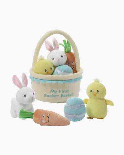 My First Easter Basket 5-Piece Plush Playset