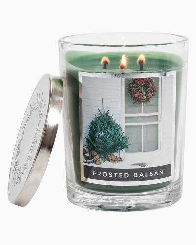 Frosted Balsam Soy Jar Candle