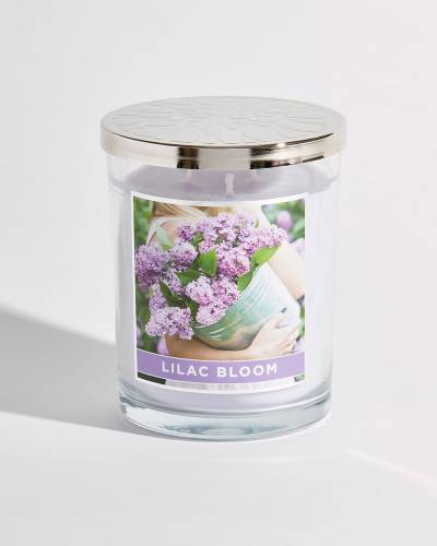 Lilac Bloom Soy Jar Candle