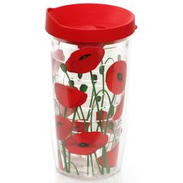 Tervis Red Poppies 16 oz. Tumbler