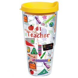 Tervis #1 Teacher 24 oz. Tumbler